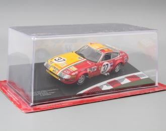 FERRARI 365 GTB4 Competizione 24h Le Mans Drivers: N.Garcia-Veiga / L.Di Palma #37 (1973), yellow / red