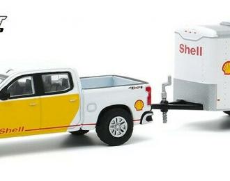 "CHEVROLET Silverado пикап ""Shell Oil"" c прицепом Cargo ""Shell Oil"" 2019"