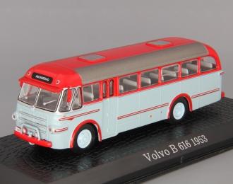 VOLVO B 616 (1953), red / silver