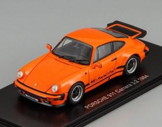 PORSCHE 911 Carrera 3.2 (1984), orange