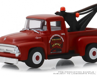 """FORD F-100 пикап-эвакуатор """"Busted Knuckle Garage Parts & Service"""" 1956"""