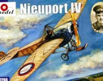 Сборная модель Самолет Nieuport IV