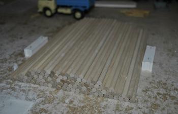 Бревно деревянное, круглое