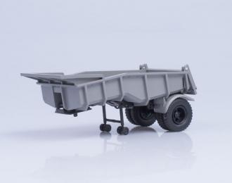 Функциональный самосвальный полуприцеп МАЗ 5232В, серый