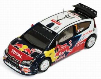 CITROEN C4 WRC 7 Winner Vodafone Rally Portugal (Sebastien Ogier - Julie Ingrassia) 2010, цветной