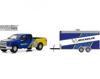 "FORD F-150 пикап ""Michelin""с прицепом ""Michelin Tires"" 2016"