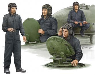 Сборная модель Солдаты  Советский танковый экипаж
