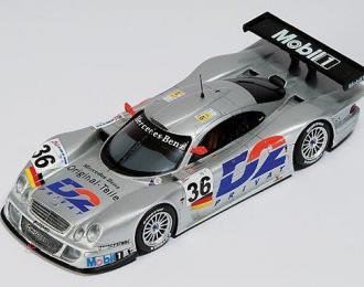 MERCEDES-BENZ CLK -LM #36 Le Mans (1998), silver