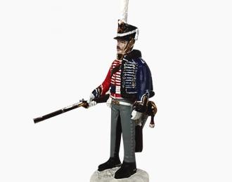 Фигурка Унтер-офицер Изюмского гусарского полка, 1812