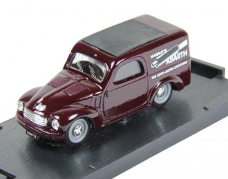 FIAT 500 C Furgoncino Marmitte Abarth (1956), dark red