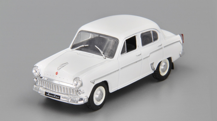 МОСКВИЧ 403, Автолегенды СССР 32, белый