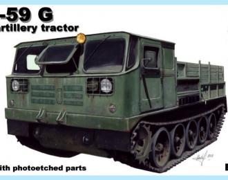 Сборная модель Советский артиллерийский тягач АТС-59Г