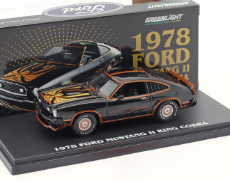 FORD Mustang II King Cobra 1978 Black & Gold