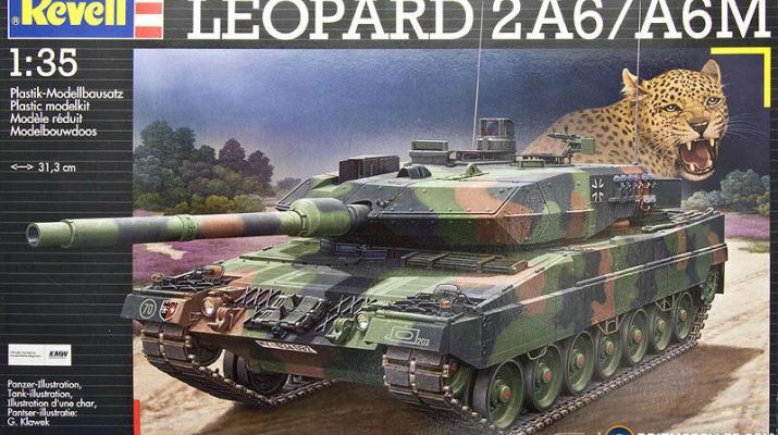 Сборная модель Leopard 2A6 / A6M