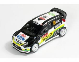 FORD FIESTA RS WRC 38 J.MAURIN-O.URAL Rally Monte Carlo 2012, black