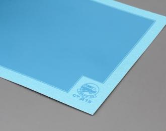Декаль Цветовое поле (светло-синий), 80х170 мм.