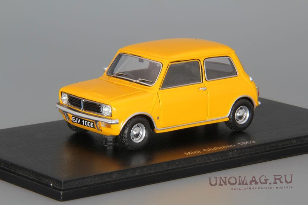 Mini Clubman 1969 Mustard Yellow