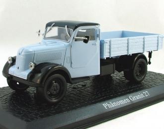 PHANOMEN Granit 27, серия грузовиков от Atlas Verlag, голубой