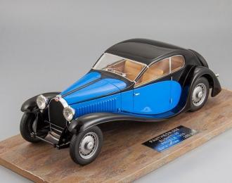 BUGATTI Type 46 Profile (1933), blue / black