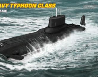 Сборная модель Подводная лодка Russian Navy Typhoon Class