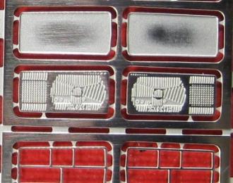 Фототравление Набор оптики ВАЗ 2107, никелирование