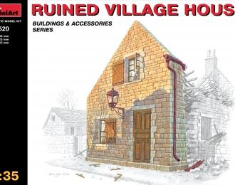 Сборная модель Наборы для диорам RUINED VILLAGE HOUSE