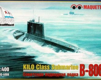 Сборная модель Советская подводная лодка В-806