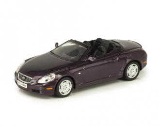 Lexus SC430 Cabriolet 2001 фиолетовый металлик