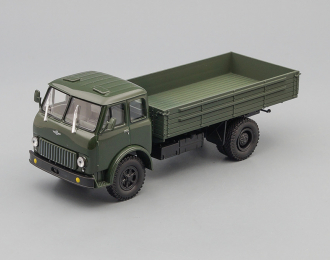 МАЗ 500 бортовой, темно-зеленый