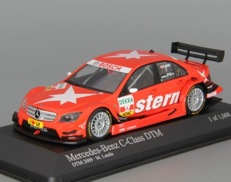 MERCEDES-BENZ C-Class Stern AMG DTM (Mathias Lauda) 2009, red
