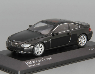 BMW 6 Series Coupe E63 (2006), black
