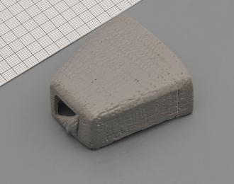 (KIT) Утеплитель капота (ватник) для КРАЗ-255, вариант 2