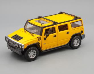 HUMMER H2 SUV (2003), yellow