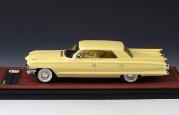 CADILLAC Sedan DeVille 4 window 1962 Apollo Yellow