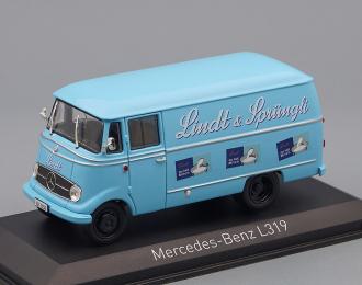 "MERCEDES-BENZ L319 фургон ""Lindt & Sprüngli"" (1957), blue"