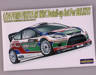 Набор для доработки Ford Fiesta RS WRC Detail-up Set для моделей BELKITS (PE+Resin+Metal parts)