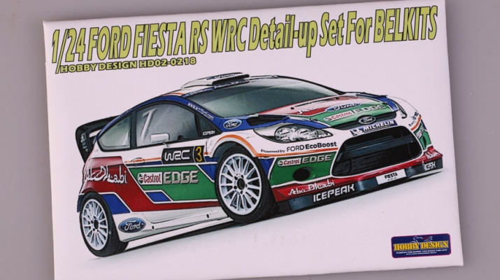 Набор для доработки Ford Fiesta RS WRC Detail-up Set для моделей BELKITS (PE+Resin+Metal parts)