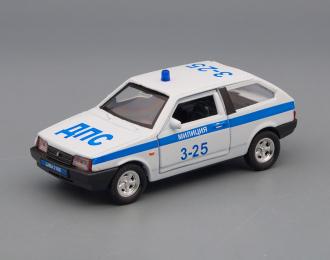 ВАЗ 2108 Милиция, белый
