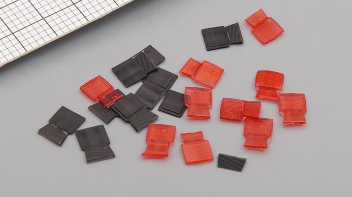Фонарь задний красный 1.371.0-000 (IKARUS), комплект 10 шт.