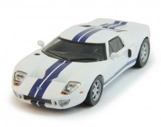 FORD GT40, Суперкары 10, white / blue