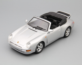 PORSCHE 911 Carrera (1993), silver