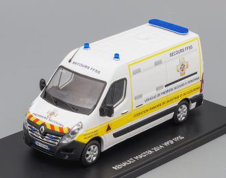 """RENAULT Master """"Sicurite Civile Vehicule De Premiers Secours"""" VPSP FFSS (Французская федерация первой помощи) 2014"""