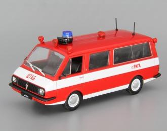 РАФ 22034 АШ пожарный, Автомобиль на службе 12, красный