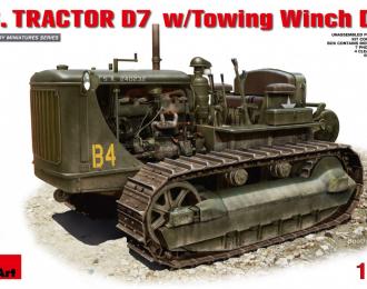 Сборная модель Американский трактор D7