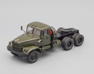 КРАЗ 258Б седельный тягач (1969-1977), хаки