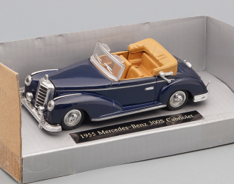 MERCEDES-BENZ 300S Cabriolet (1955), Oldtimer Collection, dark blue