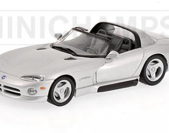 Dodge Viper Cabrio silver 1993