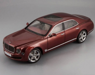 BENTLEY Mulsanne Speed (2014), rubino red