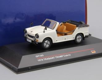 TRABANT TRAMP Cabrio (1978), white / black