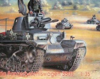 Сборная модель Skoda Panzerbefehlswagen 35(t)